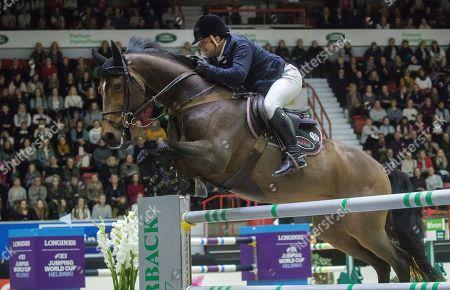 Editorial photo of International Horse Show in Helsinki, Finland - 27 Oct 2019