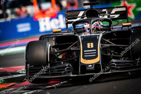 Motorsports: FIA Formula One World Championship 2019, Grand Prix of Mexico,  #8 Romain Grosjean (FRA, Rich Energy Haas F1 Team),