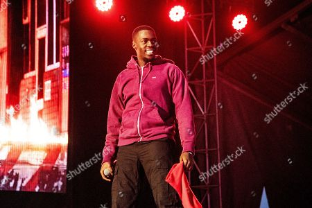 Sheck Wes performs at the Voodoo Music Experience in City Park, in New Orleans