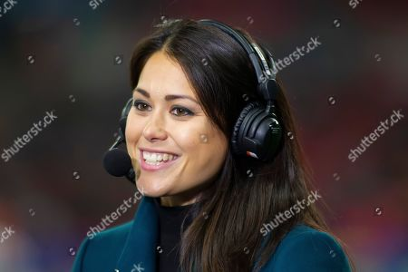 Great Britain Gold medalist Sam Quek during the NFL game between Cincinnati Bengals and the LA Rams