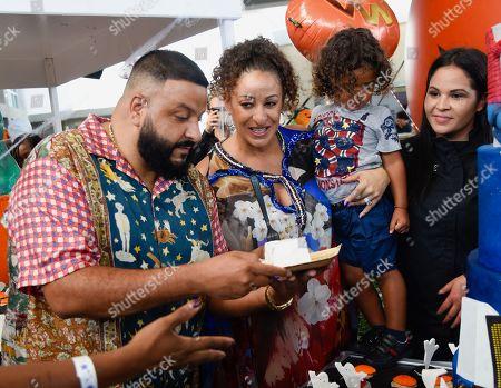 DJ Khaled, Nicole Tuck and Asahd Tuck Khaled