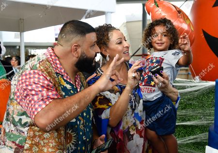 Nicole Tuck, DJ Khaled and Asahd Tuck Khaled