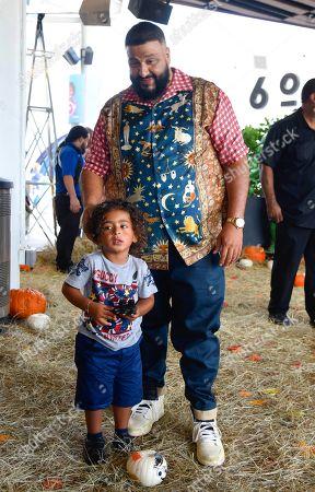 DJ Khaled and Asahd Tuck Khaled