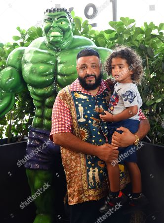 Editorial image of Halloween Bazaar to Celebrate Asahd Tuck Khaled's 3rd Birthday, Miami, USA - 27 Oct 2019