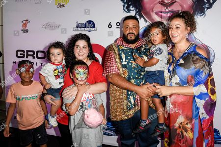 Editorial picture of Halloween Bazaar to Celebrate Asahd Tuck Khaled's 3rd Birthday, Miami, USA - 27 Oct 2019