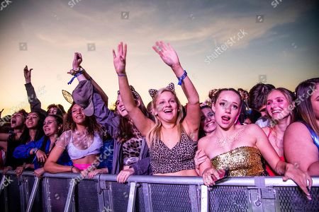 Sheck Wes. Festival goers attend the Voodoo Music Experience in City Park, in New Orleans