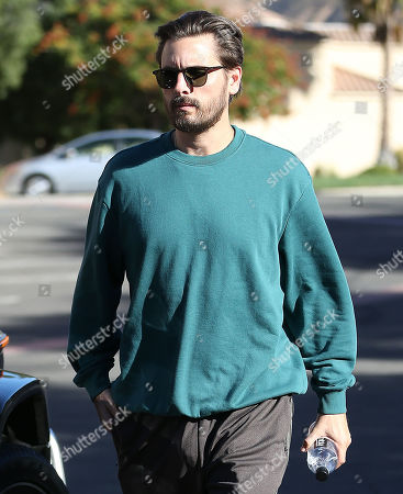 Editorial picture of Khloe Kardashian and Scott Disick out and about, Los Angeles, USA - 25 Oct 2019