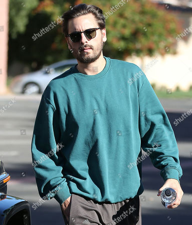 Editorial image of Khloe Kardashian and Scott Disick out and about, Los Angeles, USA - 25 Oct 2019
