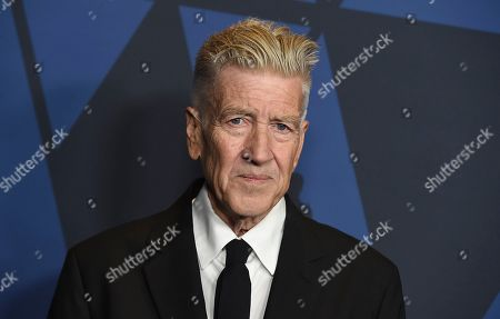 David Lynch arrives at the Governors Awards, at the Dolby Ballroom in Los Angeles