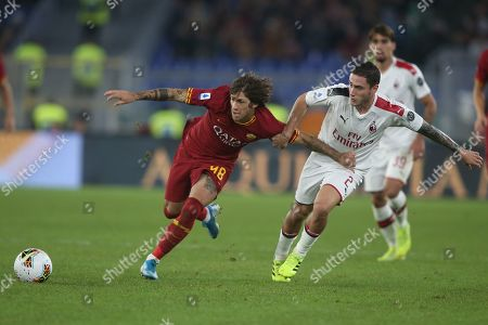 Editorial picture of AS Roma v AC Milan, Serie A football match, Rome, Italy - 27 Oct 2019