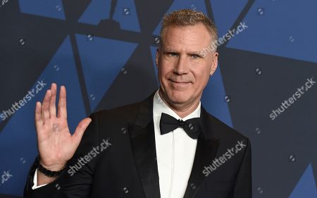 Will Ferrell arrives at the Governors Awards, at the Dolby Ballroom in Los Angeles