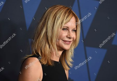 Meg Ryan arrives at the Governors Awards, at the Dolby Ballroom in Los Angeles