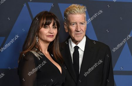 Emily Lynch, David Lynch. Emily Lynch, left, and David Lynch arrive at the Governors Awards, at the Dolby Ballroom in Los Angeles
