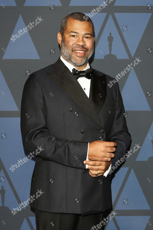 Jordan Peele poses on the red carpet prior the 11th Annual Governors Awards at the Dolby Theater in Hollywood, California, USA, 27 October 2019.