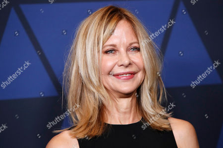 Stock Image of Meg Ryan poses on the red carpet prior to the 11th Annual Governors Awards at the Dolby Theater in Hollywood, California, USA, 27 October 2019.