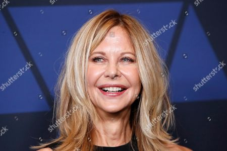 Meg Ryan poses on the red carpet prior to the 11th Annual Governors Awards at the Dolby Theater in Hollywood, California, USA, 27 October 2019.