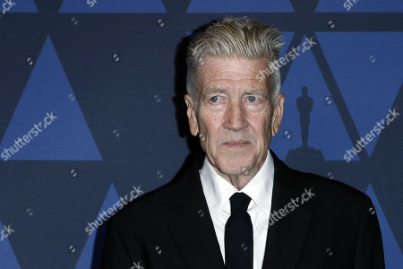 David Lynch poses on the red carpet prior the 11th Annual Governors Awards at the Dolby Theater in Hollywood, California, USA, 27 October 2019.