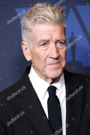 David Lynch poses on the red carpet prior to the 11th Annual Governors Awards at the Dolby Theater in Hollywood, California, USA, 27 October 2019.