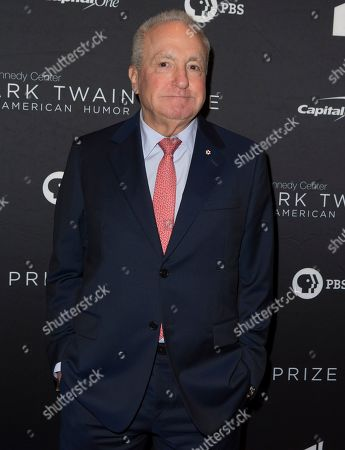 Lorne Michaels arrives at the Kennedy Center for the Performing Arts for the 22nd Annual Mark Twain Prize for American Humor presented to Dave Chappelle, in Washington, D.C
