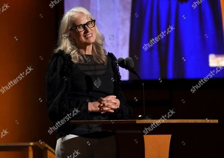 Stock Photo of Jane Campion speaks at the Governors Awards, at the Dolby Ballroom in Los Angeles