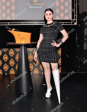Editorial photo of 'Yelloween' Veuve Clicquot event, Tokyo, Japan - 25 Oct 2019
