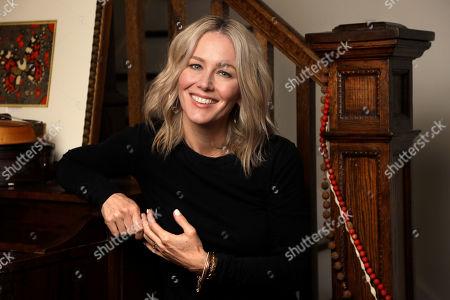 """Allison Moorer, Lucie Silvas. Singer-songwriter Allison Moorer poses in Nashville, Tenn. to promote her memoir, """"Blood,"""" and her album of the same name"""