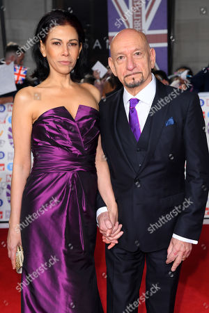 Sir Ben Kingsley and Daniela Lavender