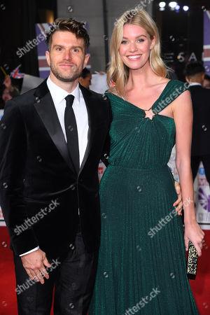 Joel Dommett and Hannah Cooper