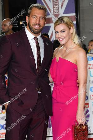 Chris Robshaw and Camilla Kerslake