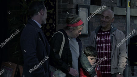 Ep 9927 Friday 15th November 2019 - 2nd Ep When Billy Mayhew, as played by Daniel Brocklebank, offers Bernie Winter, as played by Jane Hazlegrove, a cleaning job at the church, Gemma insists she accept it. Having enjoyed a meal together, Kel Hinchley, as played by Joseph Alessi, kisses Bernie goodnight. As he heads off, Billy warns him to stay away from No.5 and certainly from Joseph or he?ll regret it. Kel's left shaken.