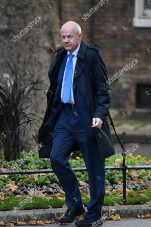 Stock Picture of Damian Green MP arriving at No.10 Downing Street, London.