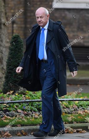 Damian Green MP arriving at No.10 Downing Street, London.