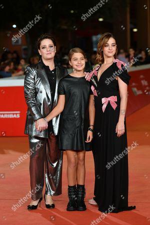 Stock Image of Giovanna Mezzogiorno, Clelia Rossi Marcelli, Beatrice Granno