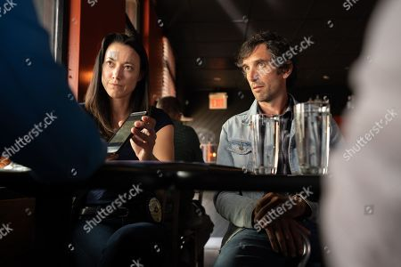 Stock Photo of Zoie Palmer as Valerie Krochack and Gord Rand as Abel Funk