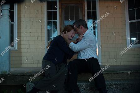 Stock Image of Alex Paxton-Beesley as Anna Funk and Ryan Robbins as Noah Funk