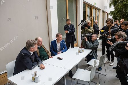 Editorial image of Regional elections in Thuringia, Berlin, Germany - 28 Oct 2019