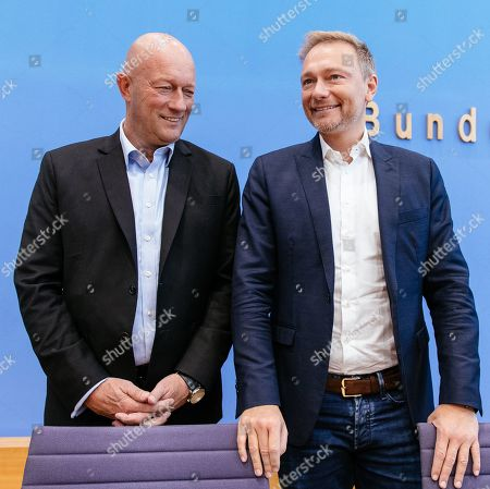 Editorial picture of Regional elections in Thuringia, Berlin, Germany - 28 Oct 2019
