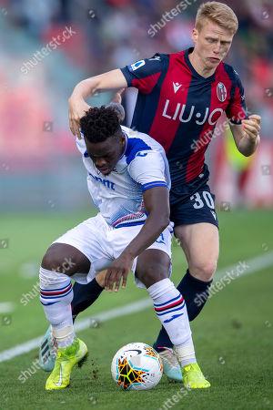 Editorial image of Bologna v Sampdoria, Serie A football match, Renato Dall Ara Stadium, Italy - 27 Oct 2019
