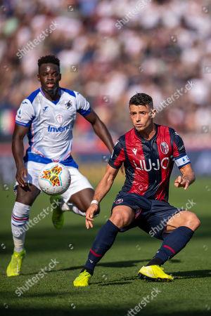 Blerim Dzemaili (Bologna) Ronaldo Vieira Nan (Sampdoria)