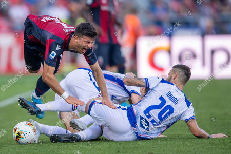 Editorial photo of Bologna v Sampdoria, Serie A football match, Renato Dall Ara Stadium, Italy - 27 Oct 2019