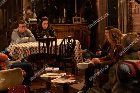 Ep 8632 Tuesday 29th October 2019  As Dingle court begins, Mandy Dingle, as played by Lisa Riley, is quick to point out the hypocrisy given what happened with Aaron and soon agrees to tell the Dingles the truth - her and Vinny, as played by Bradley Johnson, were recently running a casino card counting scam in a number of establishments run by Terry