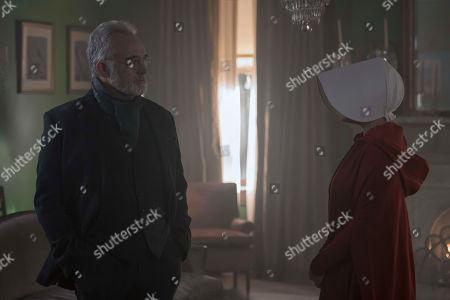 Bradley Whitford as Joseph Lawrence and Elisabeth Moss as June Osborne
