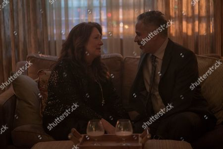 Ann Dowd as Aunt Lydia Clements and John Ortiz as Jim Thorpe