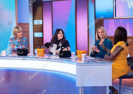 Jane Moore, Ricki Lake with Mama, Carol McGiffin and Kelle Bryan