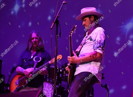 Editorial photo of The Allman Betts Band in concert at the Charles F. Dodge City Center, Florida, USA - 27 Oct 2019