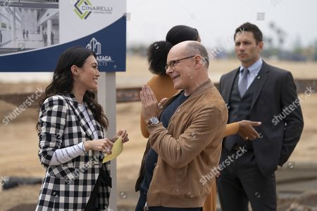 Catherine Haena Kim as Kate and Rob Corddry as Joe Krutel