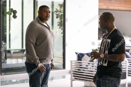 Omar Benson Miller as Charles Greane and Kris D. Lofton as Kisan