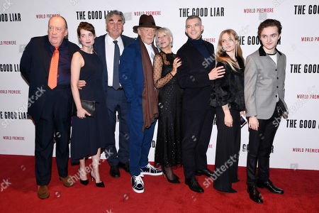 Editorial image of 'The Good Liar' film premiere, London, UK - 28 Oct 2019