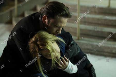 Stock Photo of Aden Young as Luke Sullivan and Camille Sullivan as Helen Murphy Sullivan