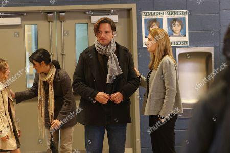Stock Image of Aden Young as Luke Sullivan and Camille Sullivan as Helen Murphy Sullivan